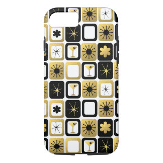 Retro Glamorous Gold iPhone 7 Case