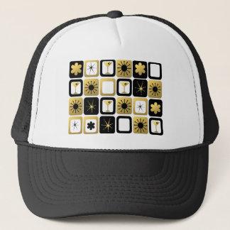 Retro Glamorous Gold Trucker Hat