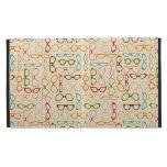 Retro glasses iPad folio covers