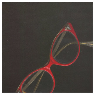 Retro Glasses Photograph by Leslie Harlow Fabric