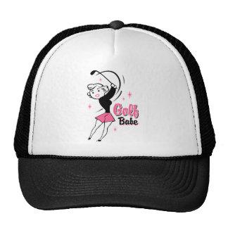 Retro Golf Babe Hat
