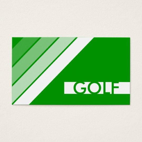 retro GOLF Business Card