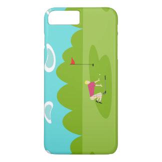 Retro Golfer iPhone 7 Plus Case