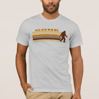 Retro Gone Squatchin T-Shirt