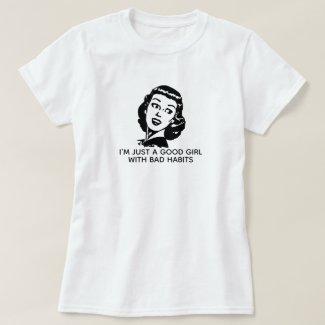 Retro Good Girl T-Shirt