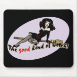 Retro Good Kind of Witch Mouse Pad