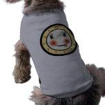 Retro Goofy Clock Face Pet T Shirt