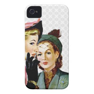 Retro Gossip iPhone 4 Case-Mate Case