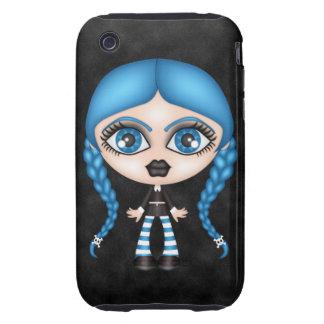 Retro Goth Gothic Doll iPhone 3 Tough Case
