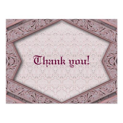 ¡Retro gracias! - Postal especial