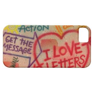 Retro Graffiti Art Love iPhone 5 Cover