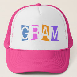 Trucker Hat with Retro Gram design