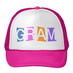 Trucker Hat with Retro Gram design