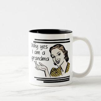 Retro Grandma T-shirts and Gifts Coffee Mug