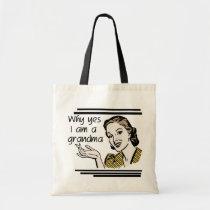 Retro Grandma T-shirts and Gifts Tote Bag