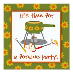 Fondue Party Invitations Zazzle