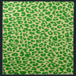 "Retro green animal print skin texture of leopard cloth napkin<br><div class=""desc"">Retro seamless animal print skin texture</div>"