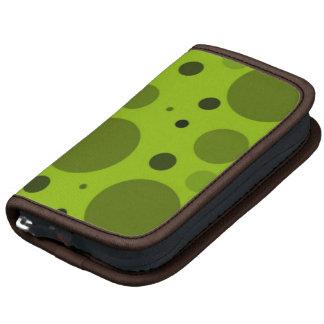 Retro Green Circles and Dots Mini Planner
