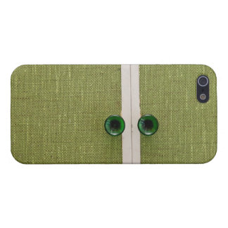 Retro green doors case for iPhone 5