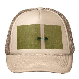 Retro green doors trucker hat