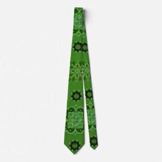 Retro Green Tie