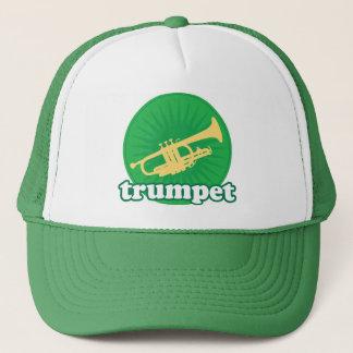 Retro Green Trumpet Music Gift Trucker Hat