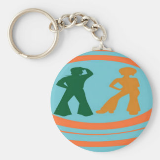 Retro Groove Keychains