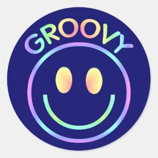 Retro Groovy Stickers