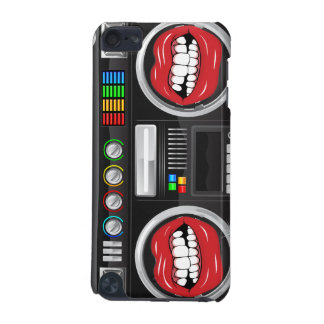 retro growl lips boom box ghetto blaster boombox iPod touch (5th generation) cover