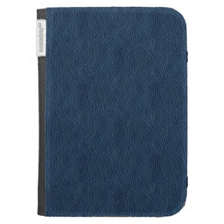 Retro Grunge Black Leather Custom Cases For The Kindle