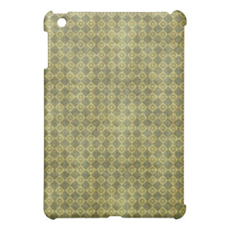 Retro Grunge Green Diamond Pern Cover For The iPad Mini