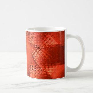 Retro grunge halftone star coffee mug
