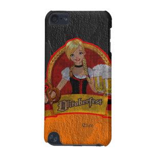 Retro Grunge Oktoberfest Waitres Girl iPod 5 Case