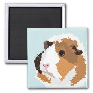 Retro Guinea Pig 'Elsie' Magnet