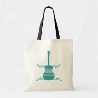 Retro Guitar Bag, Teal