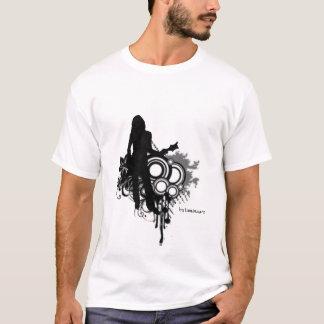 Retro Guitar Girl T-Shirt