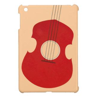 Retro Guitar Graphic Red Musical Instrument Design Case For The iPad Mini