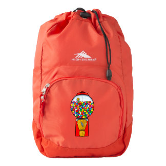 Retro Gum Ball Machine High Sierra Backpack