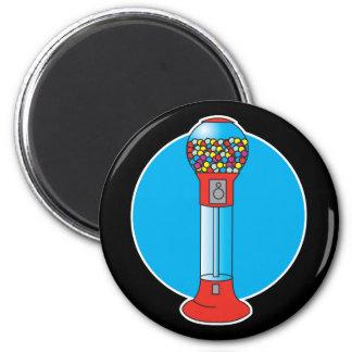 retro gumball machine 2 inch round magnet