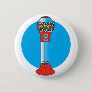 retro gumball machine button