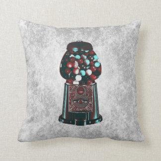 Retro Gumball Machine Pillow