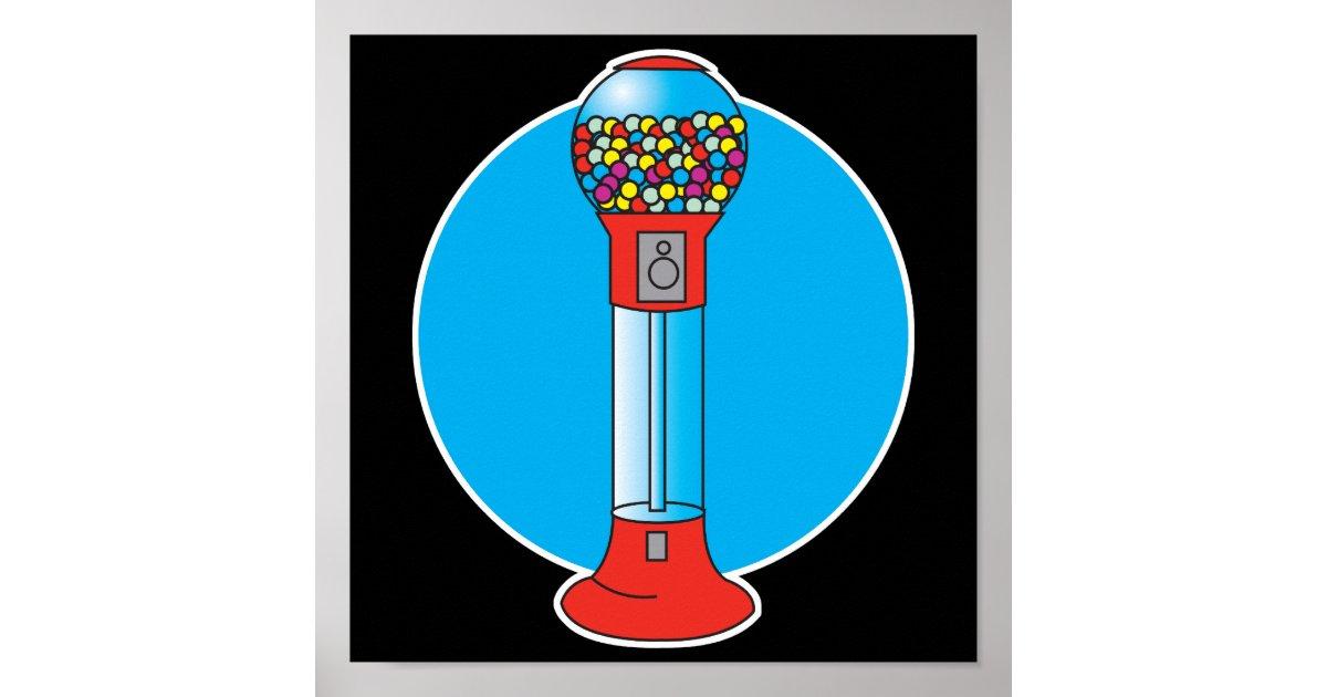 gumball machine poster