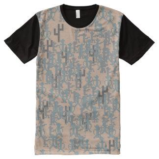 Retro Gunslinger Digital Camo Shirt