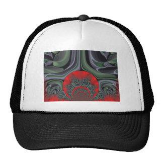 Retro Hakuna Matata Gift flora  Ring of Fire Trucker Hat