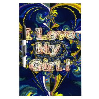 Retro Hakuna matata Infinity I Love my Girl.jpg Dry-Erase Whiteboards