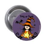 Retro Halloween 2 Inch Round Button