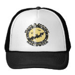 Retro Halloween Bats Hats