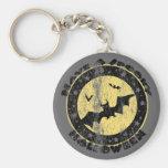 Retro Halloween Bats Key Chains