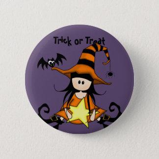 Retro Halloween Button