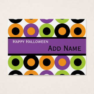 Retro Halloween Gift Tags